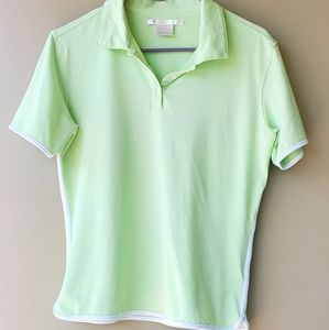 🎉🎉HP🎉🎉Nike Green DriFit Golf Polo NWOT